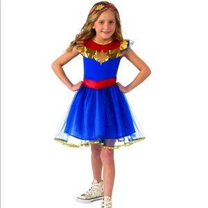 Captain Marvel Girls Tutu Dress Halloween Costume